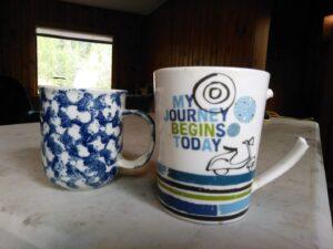 My Journey Begins Today Mug